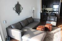 1 bedroom - fully furnished - city view - downtown mississauga