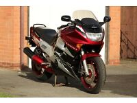 Honda CBR1000F, good condition, August MOT, recent tyres+battery