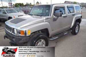 2007 Hummer H3 CROME WHEELS SUNROOF