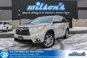 2014 Toyota Highlander XLE AWD LEATHER! NAV! SUNROOF! TOW PKG! R