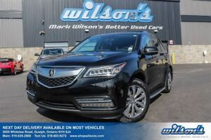 2014 Acura MDX AWD! LEATHER! NAVIGATION! SUNROOF! BLIND SPOT MON