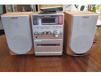 Sony micro hi-fi unit