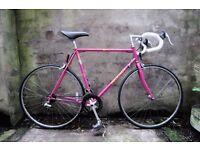 PEUGEOT COURSE, 22.5 inch, vintage racer racing road bike, 14 speed