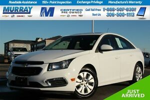 2016 Chevrolet Cruze *FINANCING AS LOW AS 0.9%* Moose Jaw Regina Area image 1
