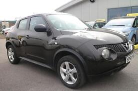 NISSAN JUKE 1.6 VISIA 5d 117 BHP MORE CLEARANCE STOCK ON OUR WEBSITE (black) 2010