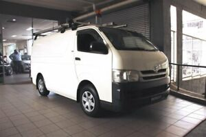 2010 Toyota HiAce KDH201R MY11 Upgrade LWB French Vanilla 4 Speed Automatic Van Thornleigh Hornsby Area Preview