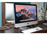 Apple iMac 21.5 2.5GHz i5 Quad Core 8GB 500GB Final Cut Pro X Davinci resolve Microsoft Office Adobe