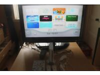 nintendo wii with wii fit , zumba game and add ons