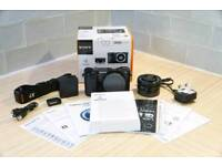 Sony a6000 Mirrorless Camera with 16-50 mm lens. Boxed Like New