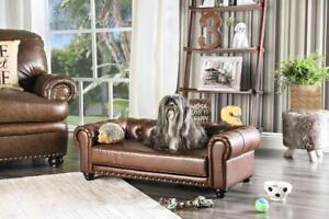 Treat your pet with this Chesterfield Pet Sofa - Two Sizes available - You have to see this!!!