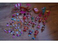 Lalaloopsy mini dolls bundle and pony