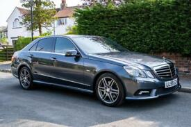 Mercedes E350 CDI Sport '59' Plate **FSH - Full Leather - Sat Nav**
