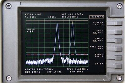 Newscope-6 Lcd Display Kit For Hp Agilent 8563a 8561b 8562b Spectrum Analyzer