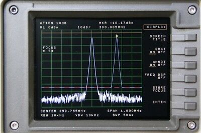 Newscope-6 Lcd Display Kit For Hp Agilent 8563e 8564e 8565e Spectrum Analyzer