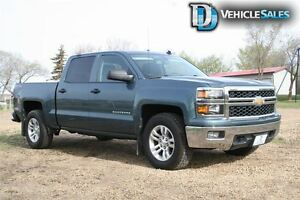 2014 Chevrolet Silverado 1500 LT, 4x4, BACK UP CAM, BOX LINER