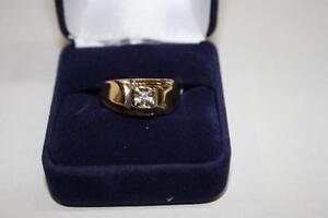 Bague en or Sertie Diamant (A36468)