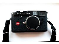Leica M4-P Black Body - nice condition and works well