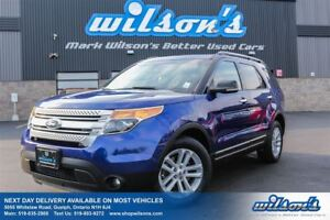 2013 Ford Explorer XLT 4WD 7-PASS! LEATHER! SUNROOF! HEATED+POWE