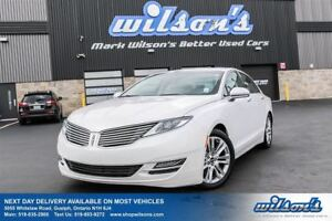 2014 Lincoln MKZ LEATHER! NAVIGATION! SUNROOF! BLIND SPOT MONITO