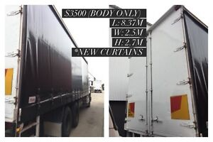 Tautliner (Truck Body only) - Brand New Curtain - Perfect condition Seabrook Hobsons Bay Area Preview