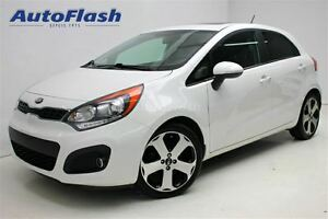 2013 Kia Rio SX w/UVO * Cuir/Leather * Bluetooth * Camera