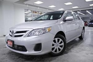 2011 Toyota Corolla CE, POWER GROUP, ONE OWNER, NO ACCIDENT, FUL