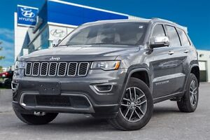 2017 Jeep Grand Cherokee 4x4 LIMITED LEATHER ROOF BUCK UP CAMERA