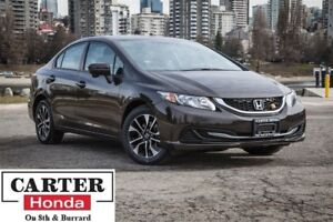 2014 Honda Civic EX, low kms, no accidents, one owner, Certified