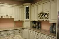 Summer Sale on Solidwood Kitchen cabinet and Quartz counter top