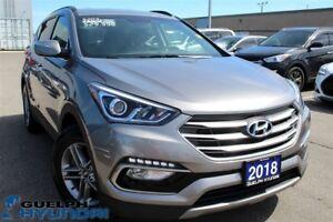 2018 Hyundai Santa Fe Sport 2.4-BACKUP CAM,FRONT&REAR HEATED SEA