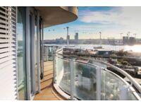 SPACIOUS LUXURY 1 BEDROOM APARTMENT - STUNNING VIEWS! HOOLA BUILDING E16 ROYAL VICTORIA ROYAL DOCKS
