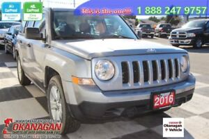 2016 Jeep Patriot Sport/North, No Accidents, One Owner!!!