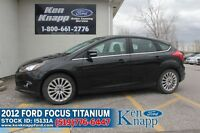2012 Ford Focus Titanium | Fully Loaded | Leather | Navigation Windsor Region Ontario Preview