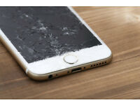 Cracked or broken iPhone screen? - iPhone replacement screen service, repair while you wait