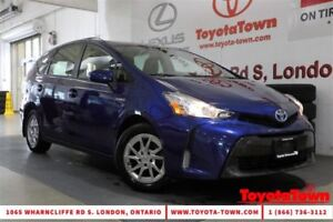 2015 Toyota Prius v SINGLE OWNER LUXURY PACKAGE LEATHER NAVIGATI