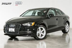 2016 Audi A3 2.0T Komfort quattro 6sp S tronic | BY APT. ONLY |