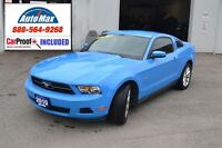 2010 Ford Mustang V6 (110A) STUNNING PAINT - 1 OWNER - ACCIDENT