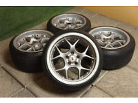 "Stilauto / Schmidt VN Line 16"" Alloy wheels 5x100 Golf Polo Beetle Bora TT A3 Celica Stance Alloys"