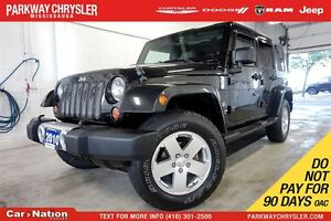 2010 Jeep WRANGLER UNLIMITED SAHARA| TOW PKG| DUAL TOP| REMOTE S