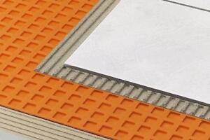 Reduce the thickness of sub-floor needed for Tile floors - Schluter®-DITRA & DITRA-XL