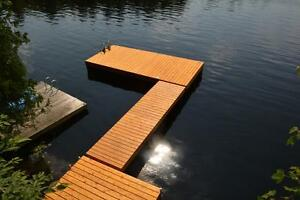 Floating Cedar Docks For Sale Kingston Kingston Area image 8