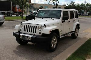 2015 Jeep WRANGLER UNLIMITED Sahara / NAVIGATION / CERTIFIED