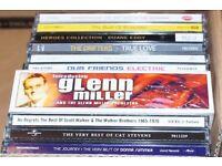 JOB LOT 50s/60s/70s/80s CDs