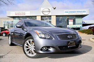 2013 Infiniti G37X Premium *Leather, Heated seats, Rear view mon