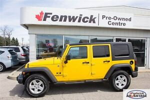 2008 Jeep Wrangler Unlimited X -  One Owner -  Accident Free