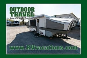 2012 FOREST RIVER VIKING 2465SST USED TENT TRAILER