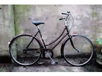 RALEIGH CAMEO, 21 inch, vintage ladies womens dutch style traditional road bike, 3 speed