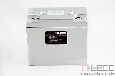 LiFePO4 Starterbatterie/Speicherbatterie 12V  20Ah inkl. Balancer