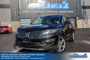 2015 Lincoln MKC AWD! LEATHER! NAV! SUNROOF! HEATED STEERING! HE