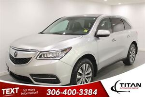 2014 Acura MDX Navigation Package|AWD